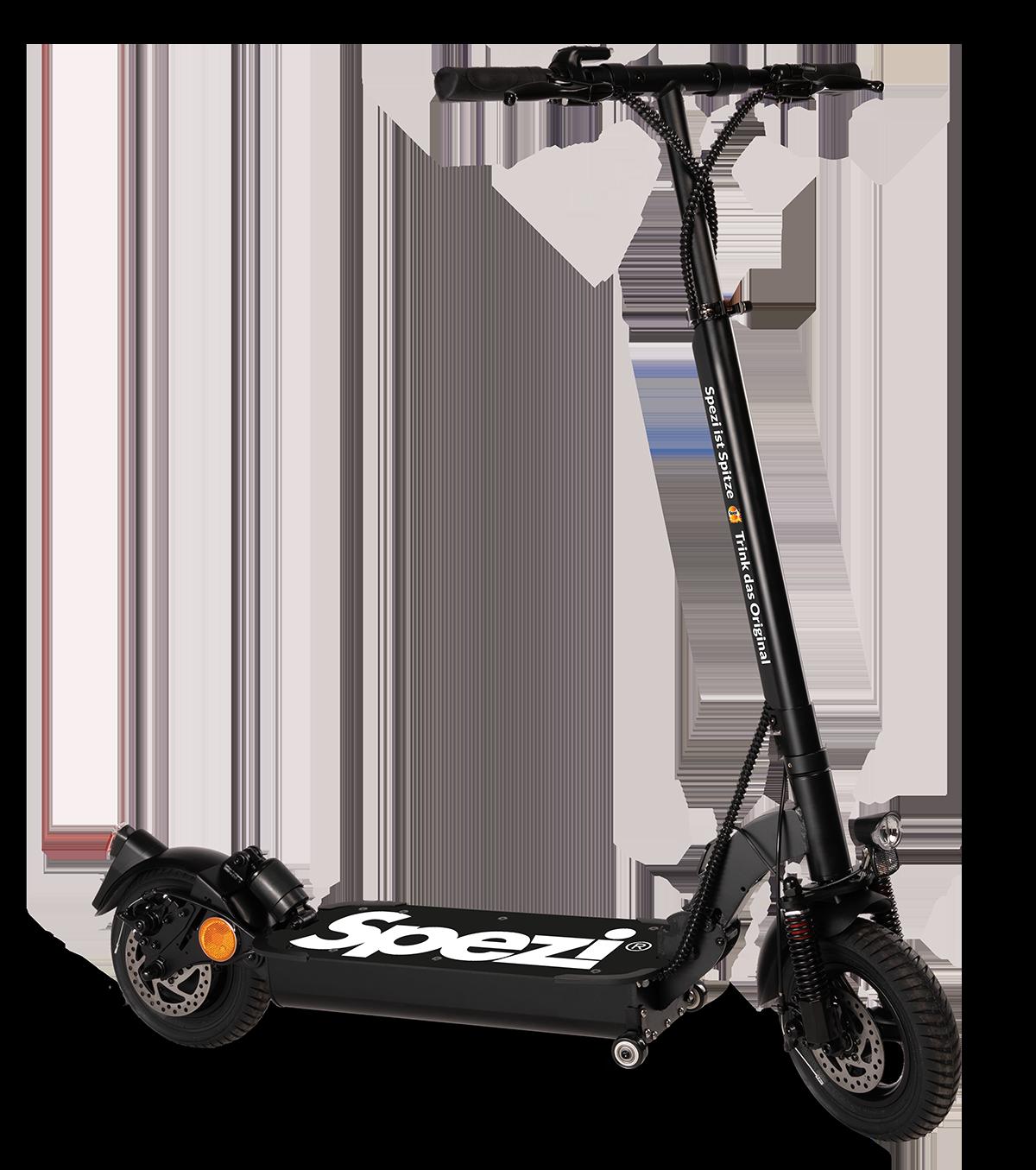 Gewinn Spezi E-Scooter - Gewinnspiel 2020